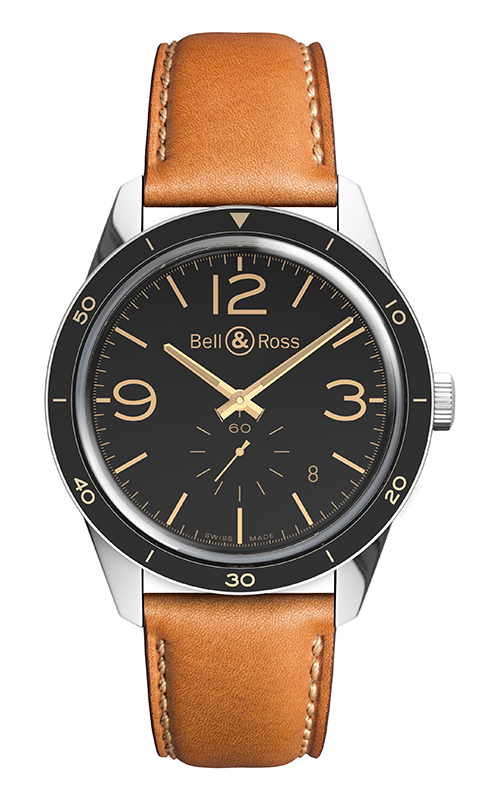Bell and Ross Vintage Watch BR 123 Golden Heritage product image