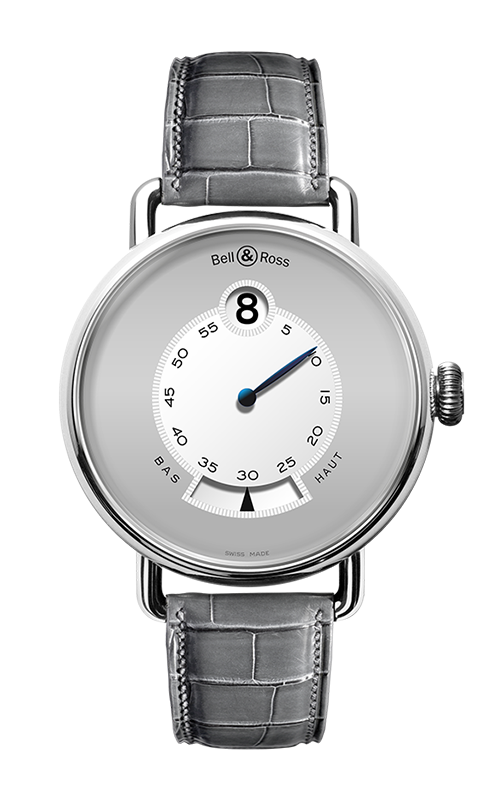 Bell and Ross Vintage WW1 Heure Sautante WW1 Heure Sautante Platinum product image
