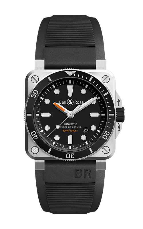 Bell and Ross Instruments BR 03 42 MM Watch BR 03-92 Diver product image