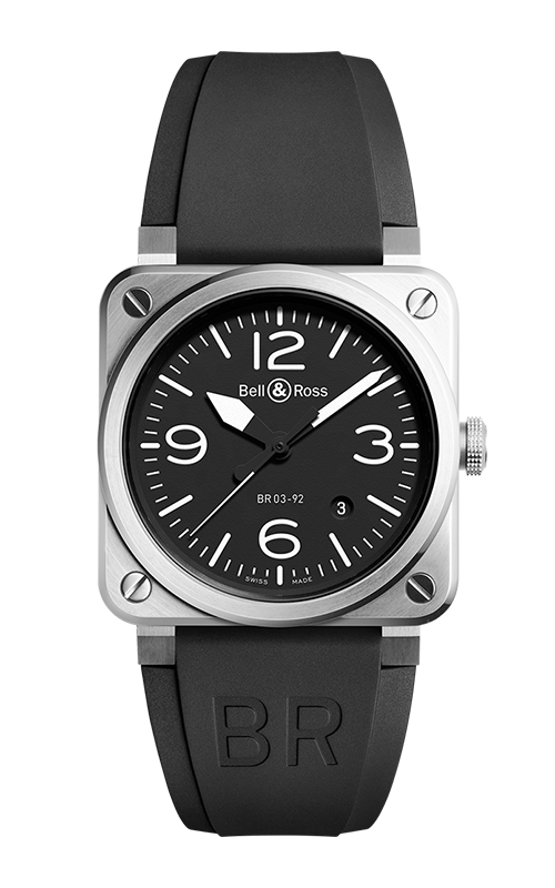 Bell and Ross Instruments BR 03 42 MM Watch BR 03-92 Steel product image