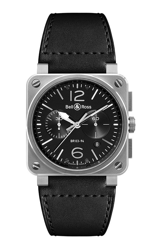 Bell and Ross Instruments BR 03 42 MM Watch BR 03-94 Steel product image