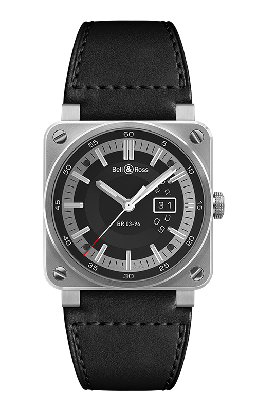 Bell and Ross Instruments BR 03 42 MM Watch BR 03-96 Grande Date product image
