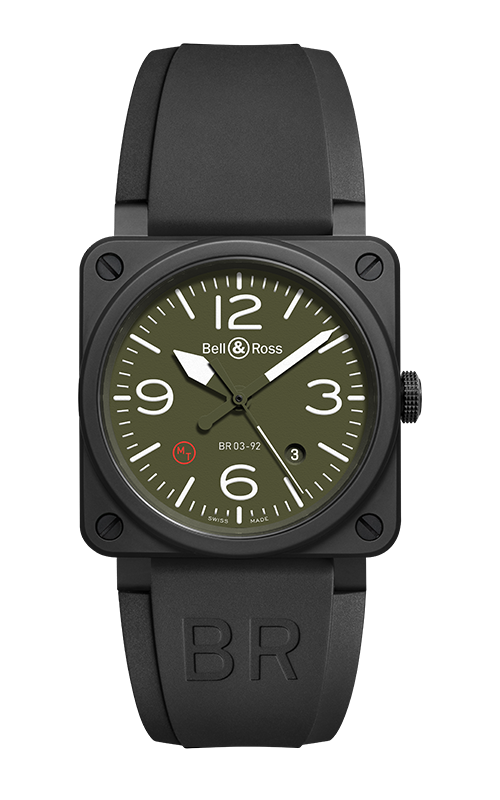 Bell and Ross Instruments BR 03 42 MM  Watch BR03-92 Ceramic Military product image