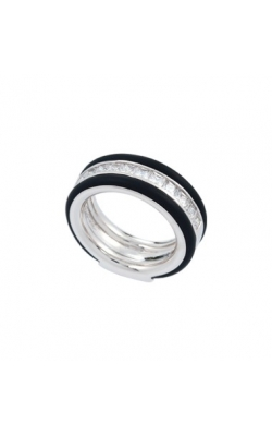 Belle Etoile Velocity Black Ring product image