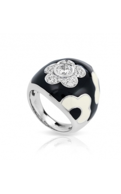 Belle Etoile Fleur Black Ring product image