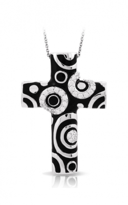 Belle Etoile Galaxy Black Cross Pendant GF-28454-03 product image