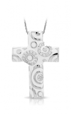 Belle Etoile Galaxy White Cross Pendant GF-28454-12 product image