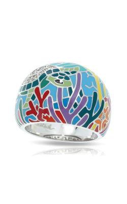 Belle Etoile Sea Turtle Aqua Ring 1021610501-5 product image