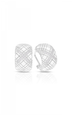 Belle Etoile Tartan White Earrings 03021310403 product image
