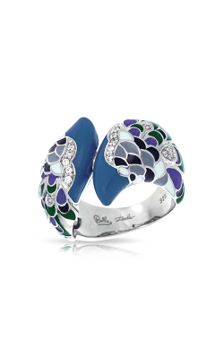 Belle Etoile Love In Plume Green Ring 01021310902-5 product image