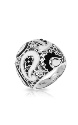 Belle Etoile Koyari Black And White Ring 01021320301-5 product image