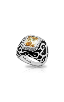 Belle Etoile  Royale Stone Black And Champagne Ring 01021610801-5 product image