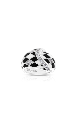 Belle Etoile Tivoli Black & White Ring 01021710101-5 product image