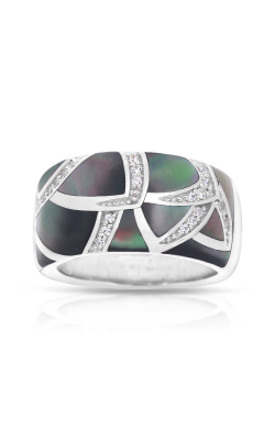 Belle Etoile Sirena Black Mother-of-Pearl Ring 01031620301-5 product image
