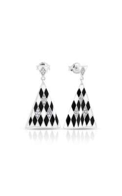 Belle Etoile Tivoli Black & White Earrings 3021710101 product image