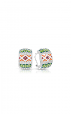 Belle Etoile Santa Fe Orange And Green Earrings 3021620301 product image