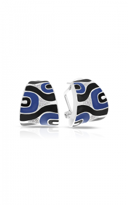 Belle Etoile Moda Blue & Black Earrings 03021320704 product image