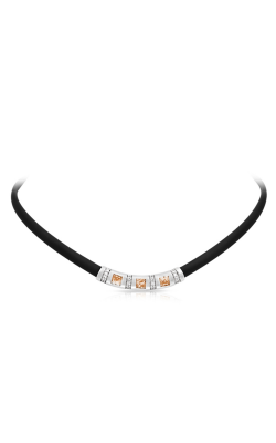 Belle Etoile Celine Black And Champagne Necklace 05051320401 product image