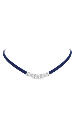 Belle Etoile Celine Blue And Milkstone Necklace 05051320404 product image
