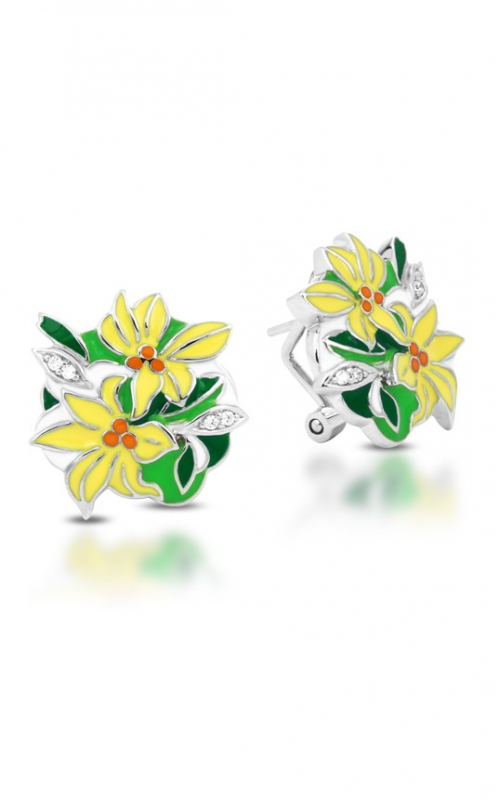 Belle Etoile Tiger Lily Earrings 03021510301 product image