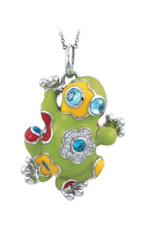 Belle Etoile Lucky Frog Necklace GF-29916-02 product image