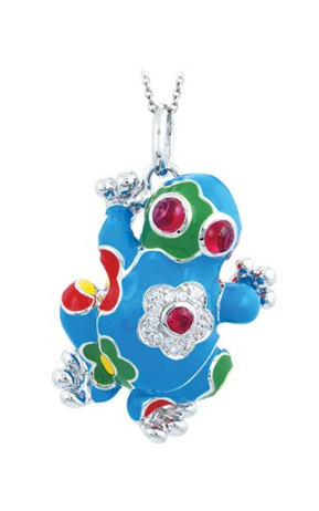 Belle Etoile Lucky Frog Necklace GF-29916-04 product image