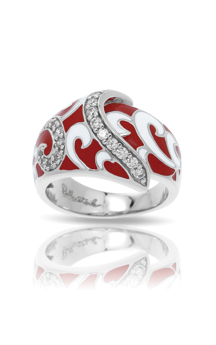 Belle Etoile Contessa Red Ring 1021610302-5 product image