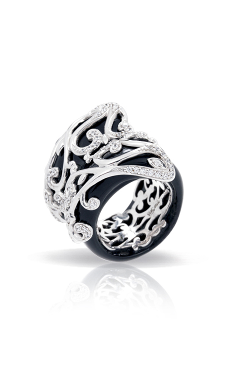 Belle Etoile Anastacia Black Ring 01060910201-5 product image