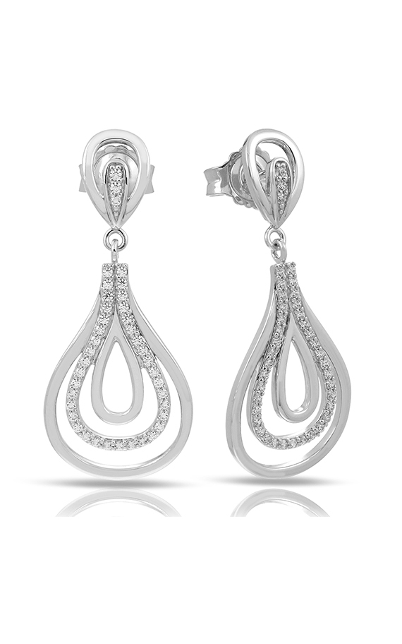 Belle Etoile Color Stone Onda Silver Earrings 3011610101 product image