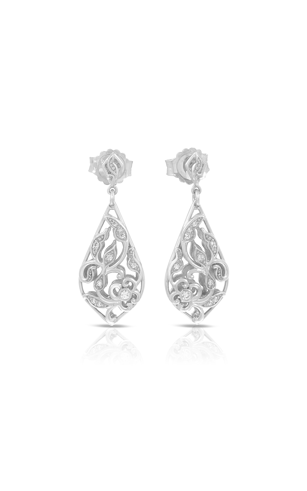 Belle Etoile Color Stone Empress Silver Earrings 3011620501 product image