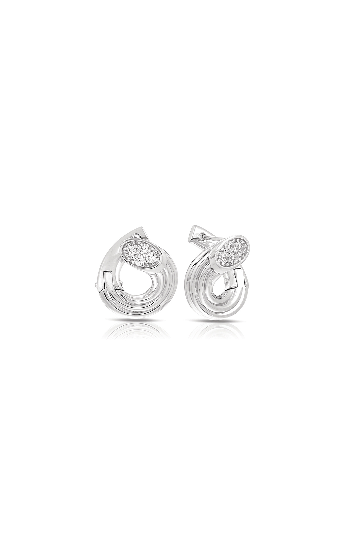 Belle Etoile Color Stone Cavo White Earrings 3011620801 product image