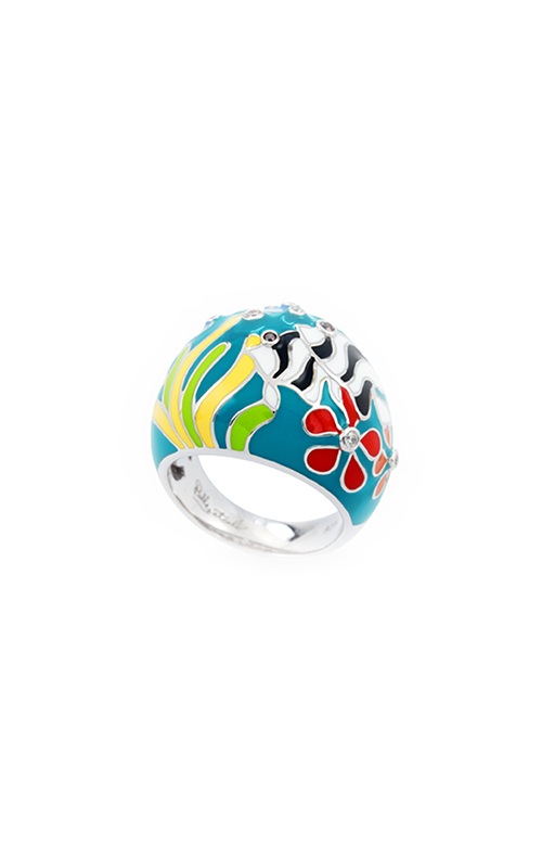 Belle Etoile Angelfish Teal Ring 01021110201-6 product image