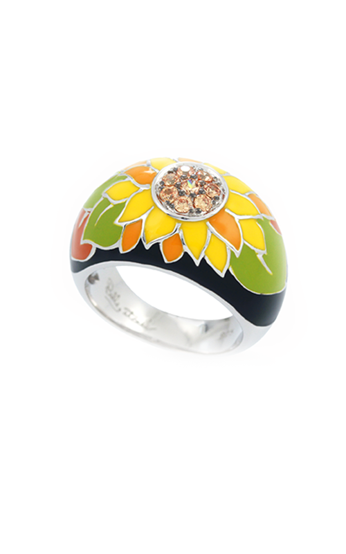 Belle Etoile Sunflower Black Ring 01021110401-8 product image