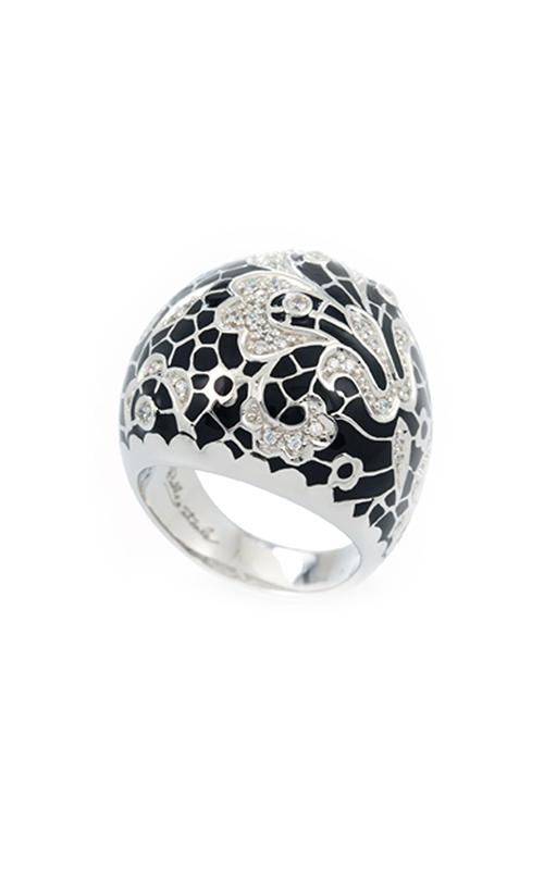 Belle Etoile Fleur De Lace Black Ring 01021110501-6 product image