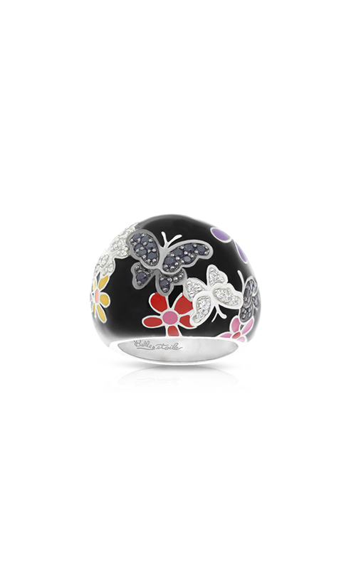 Belle Etoile Flutter Black & Multicolor Ring 01021210204-8 product image