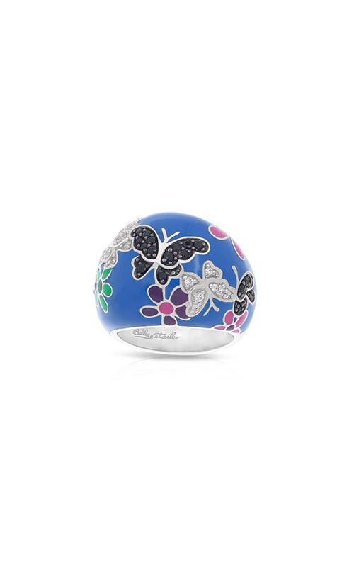Belle Etoile Flutter Blue & Multicolor Ring 01021210205-9 product image