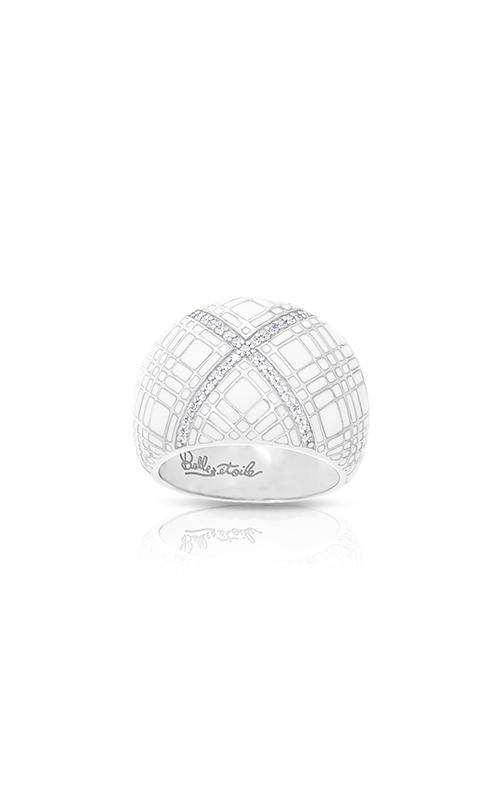 Belle Etoile Tartan White Ring 01021310403-8 product image
