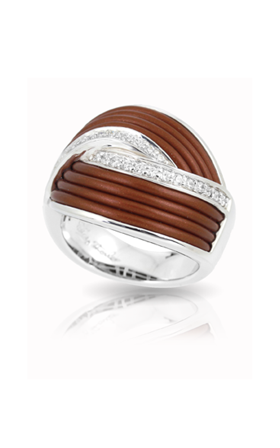 Belle Etoile Eterno Brown Ring 01051220502-7 product image