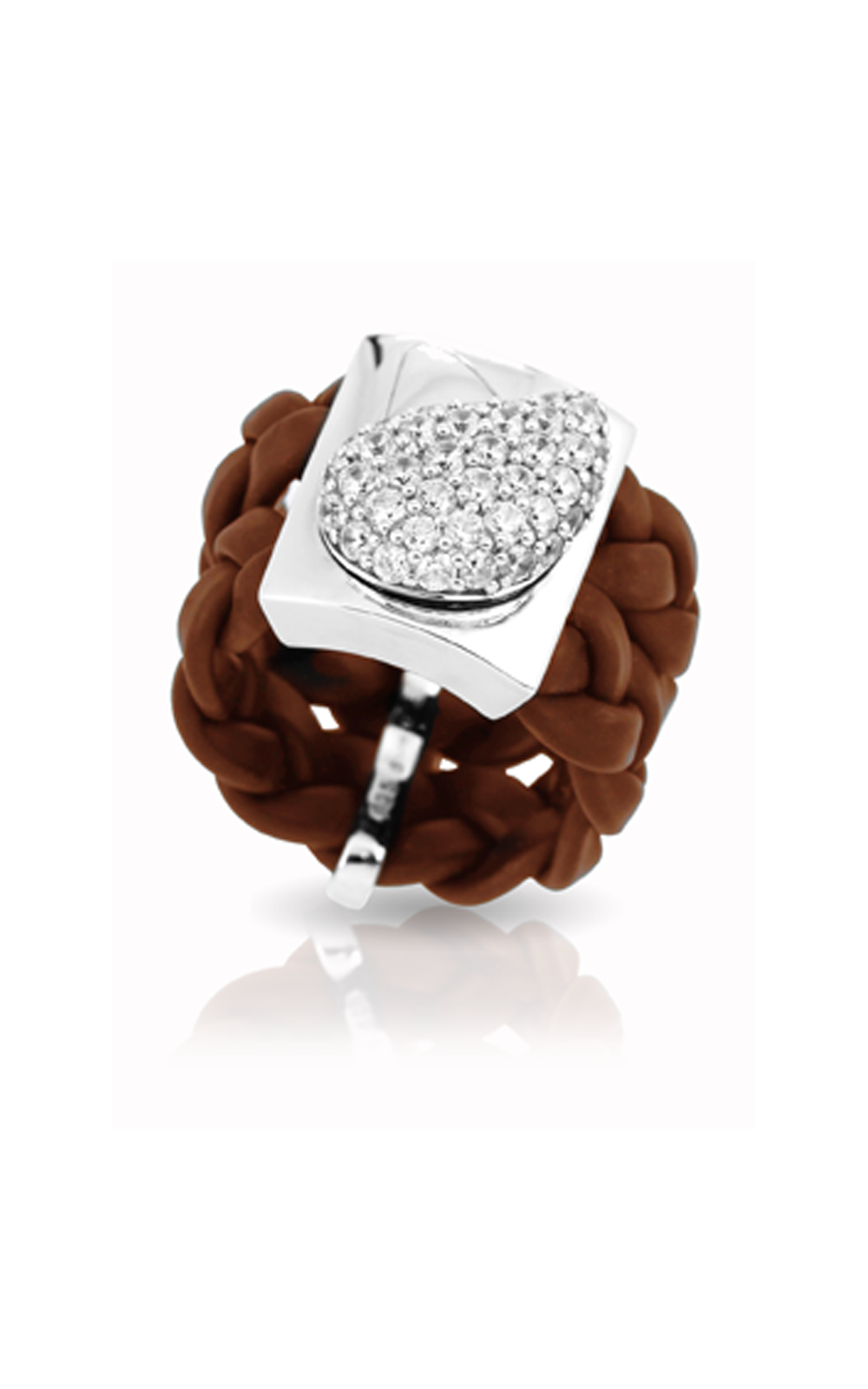 Belle Etoile Florence Brown Ring 01051220602-6 product image