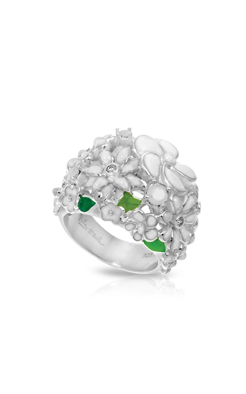 Belle Etoile Jardin White Ring 01021320202-6 product image
