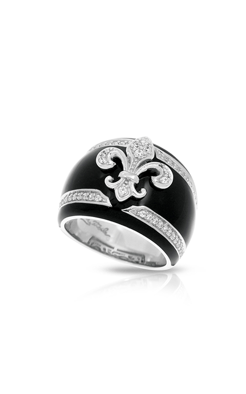 Belle Etoile Fleur de Lis Black Ring 01021320501-8 product image
