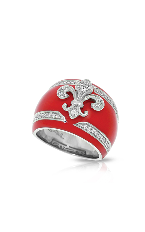 Belle Etoile Fleur de Lis Carnation Pink Ring 01021320502-7 product image