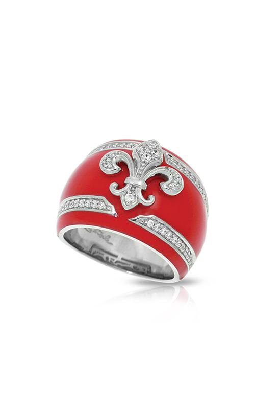Belle Etoile Fleur de Lis Carnation Pink Ring 01021320502-8 product image