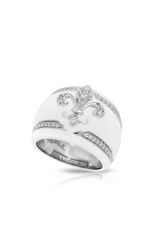 Belle Etoile Fleur de Lis White Ring 01021320504-6 product image