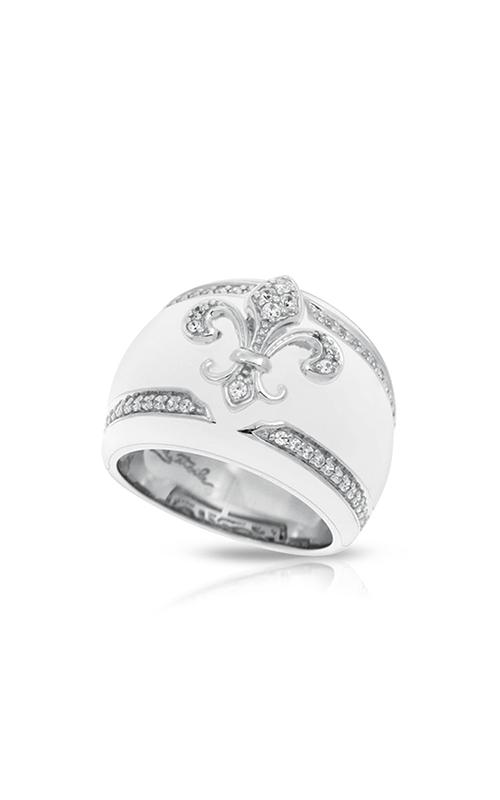 Belle Etoile Fleur de Lis White Ring 01021320504-7 product image