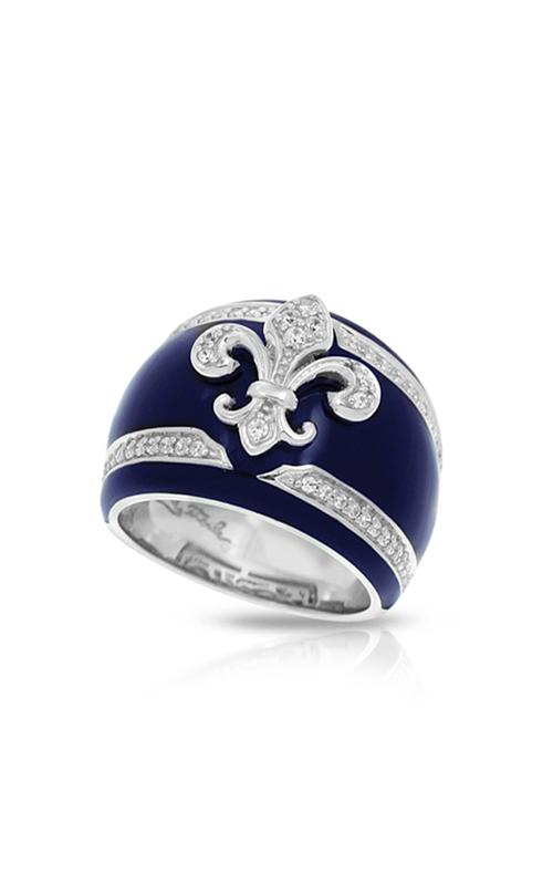 Belle Etoile Fleur de Lis Blue Ring 01021320505-9 product image