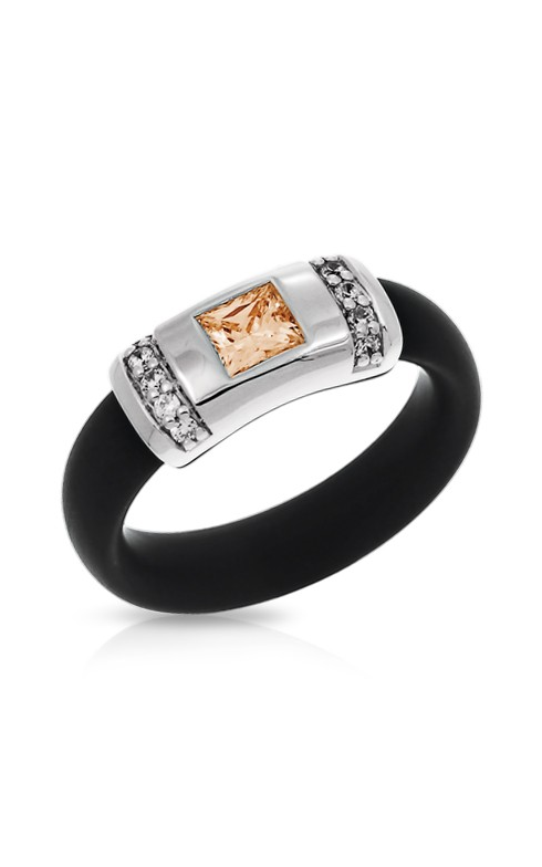 Belle Etoile Celine Black and Champagne Ring 01051320401-6 product image