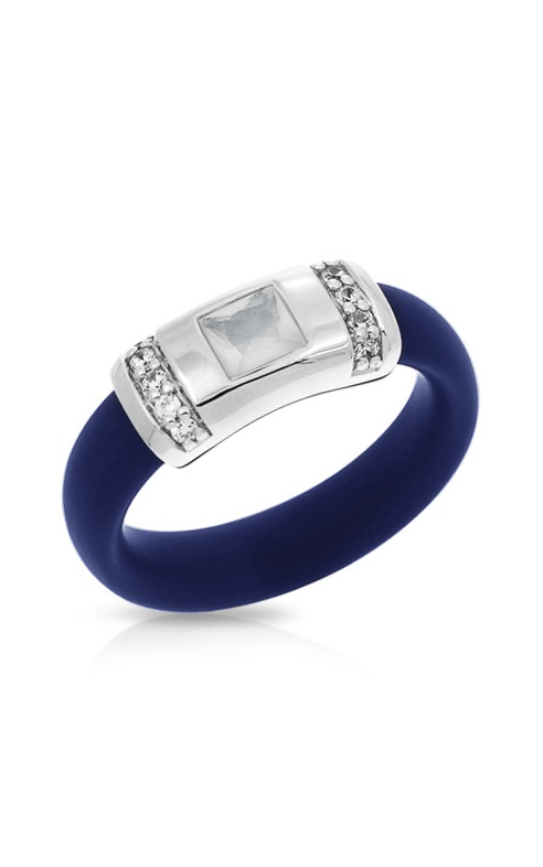 Belle Etoile Celine Blue and Milkstone Ring 01051320404-8 product image