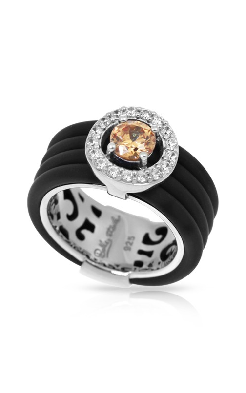 Belle Etoile Circa Black and Champagne Ring 01051320501-8 product image