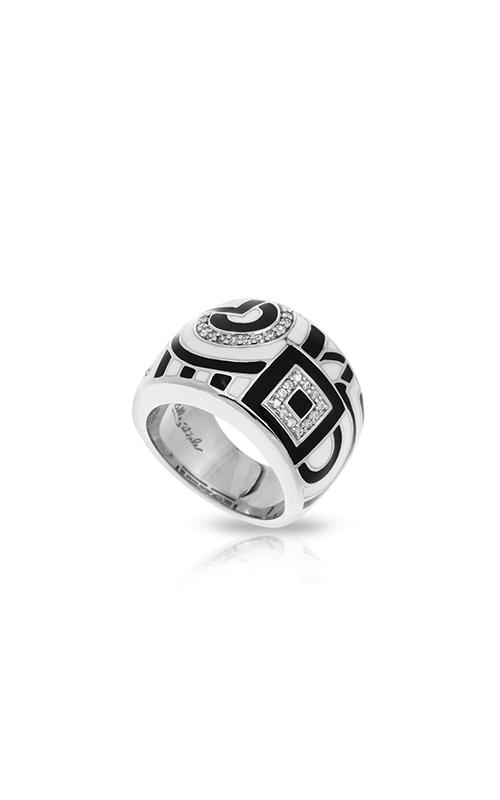 Belle Etoile Geometrica Black & White Ring 01021410201-9 product image
